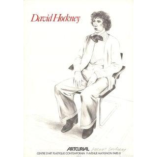David Hockney Mourlot Lithograph