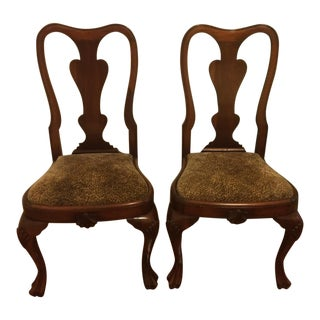 Queen Anne Side Chairs - Reduced!