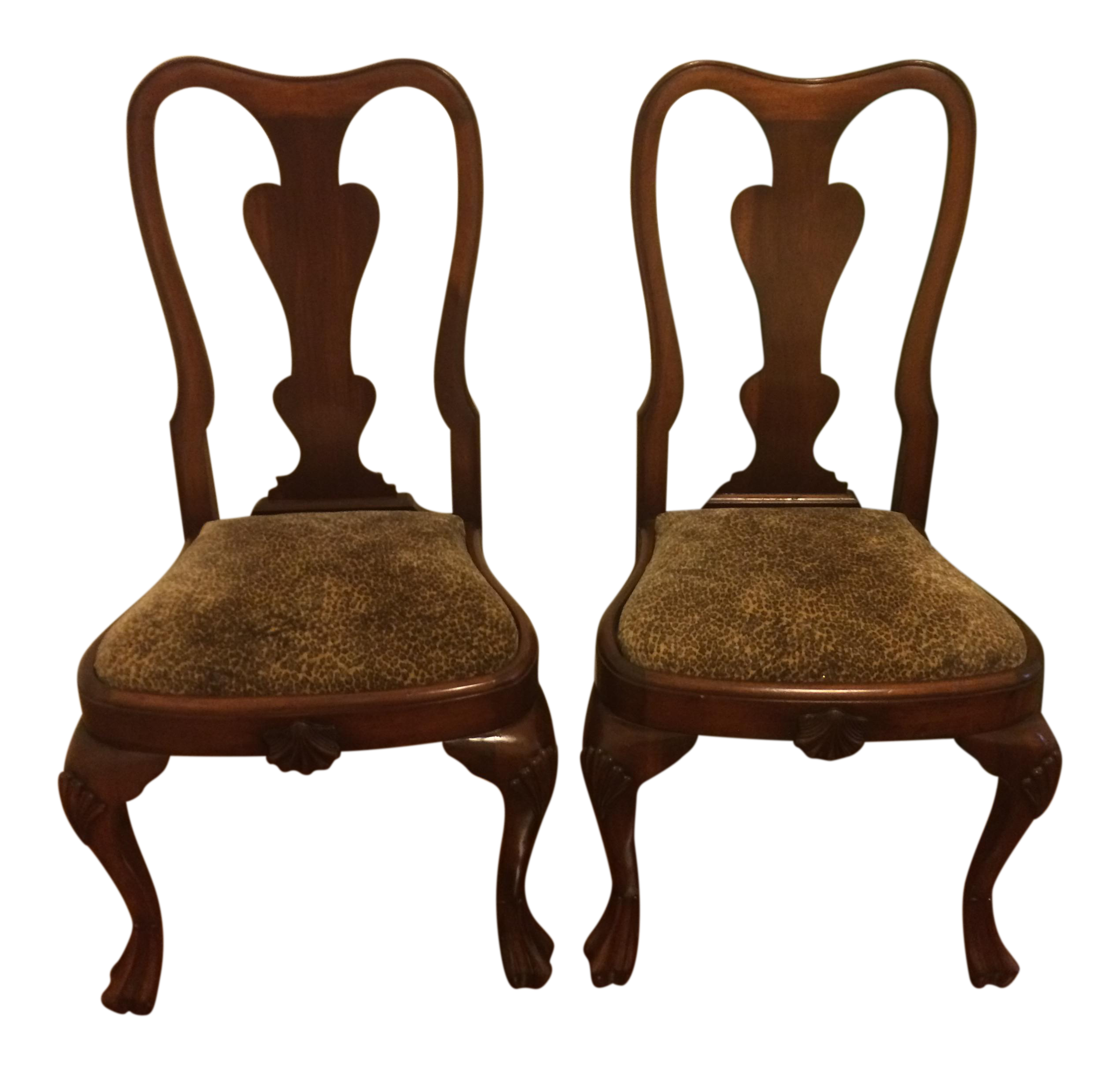Queen Anne Side Chairs   Reduced!
