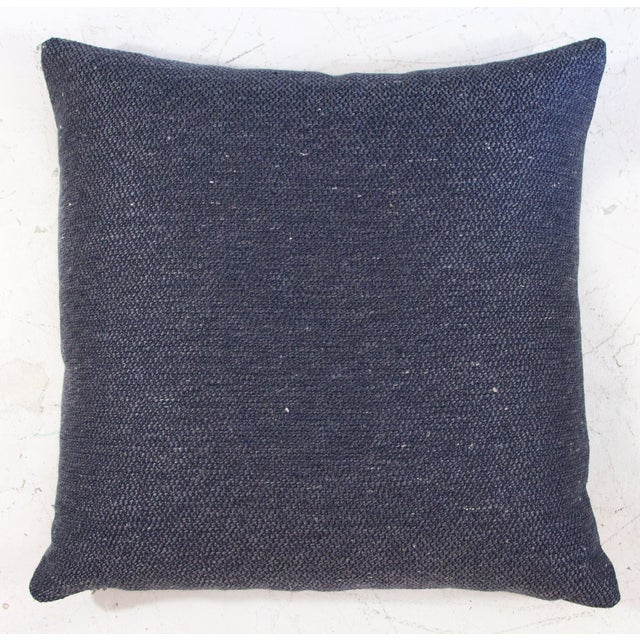 Coco Textured Woven Pillows - A Pair - Image 2 of 3