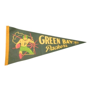Green Bay Packers Felt Pennant