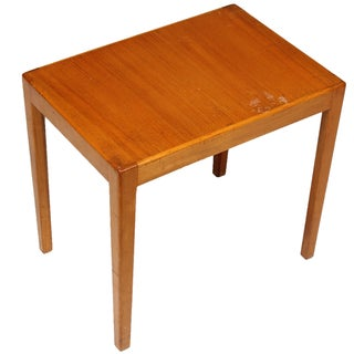 1970s Danish Elm Side Table