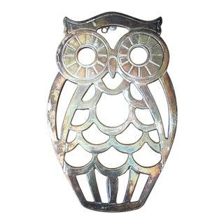 Leonard Silverplate Owl Trivet