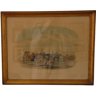 Stagecoach Bluecoats Framed Artwork