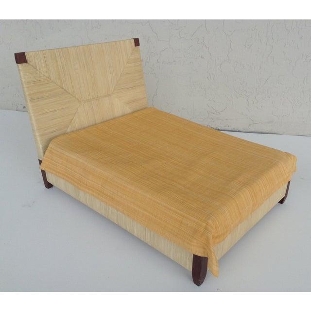 Donghia Merbau Bed Salesman Model/Sample - Image 2 of 8