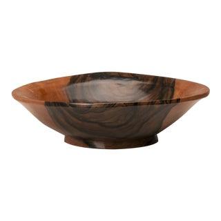 English Coromandel Wood Hand Made Bowl