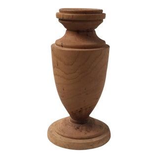 Turned Wood Bud Vase