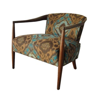 Mid Century Modern Reupholstered Accent Chair