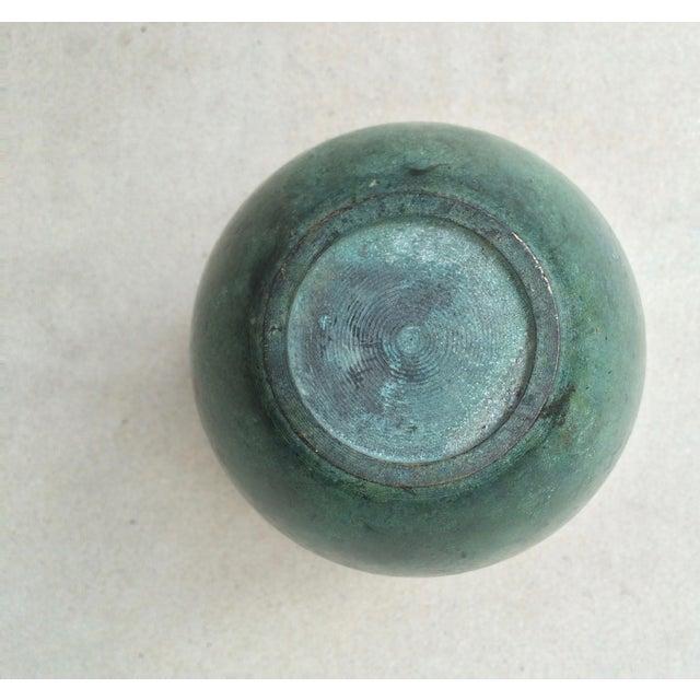 Vintage Bronze Vase - Image 5 of 6