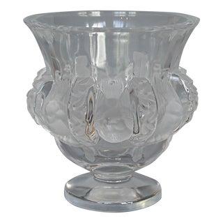 Lalique Dampierre Bird Motif Vase