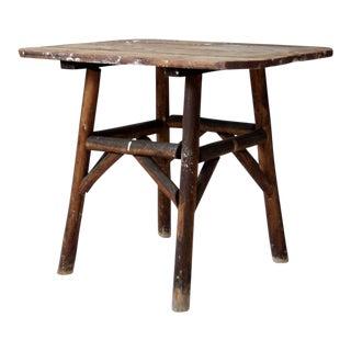 Antique Farmhouse End Table