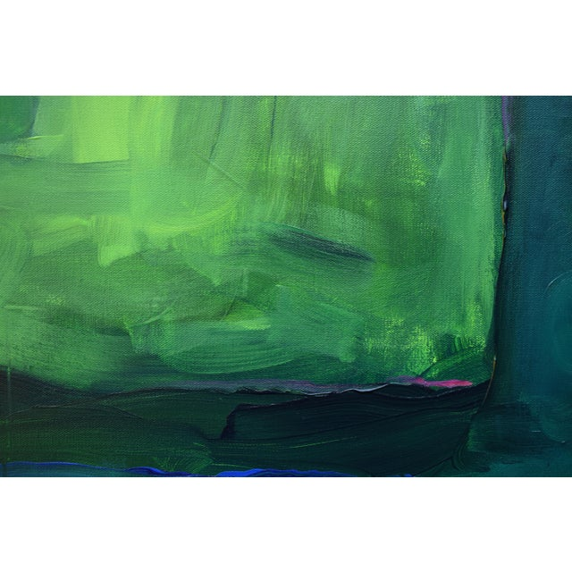 "Stephen Remick ""Garden Party, Waning"" Abstract Painting - Image 4 of 8"