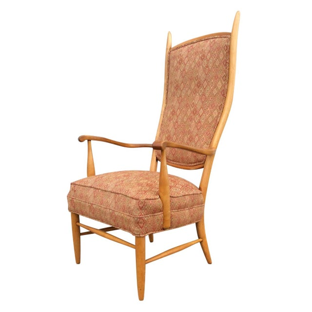 Edward Wormley High Back Lounge Chair - Image 1 of 8