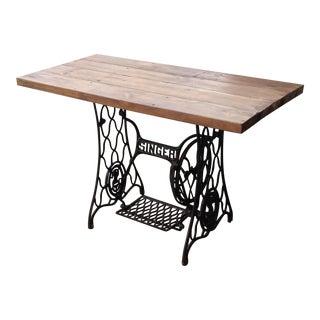 Singer Sewing Machine Table / Industrial Desk