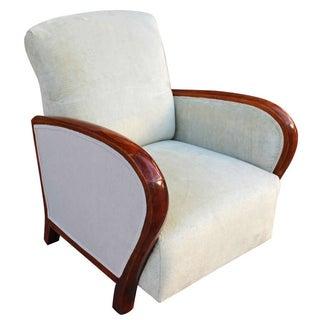 Austrian Art Deco Club Chair