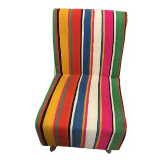 Handmade Colorful Kilim Chair