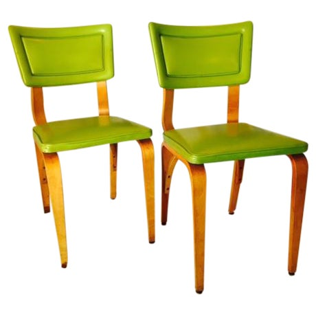 Vintage Mid-Century Original Thonet Chairs - Image 1 of 6