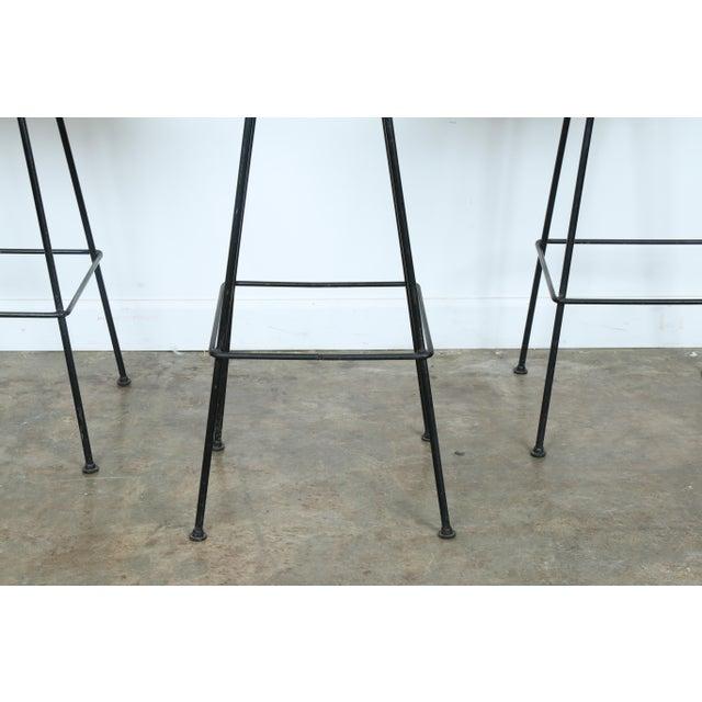 Image of Arthur Umanoff Wrought Iron Stools