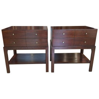 Parzinger Style Nightstands - Pair
