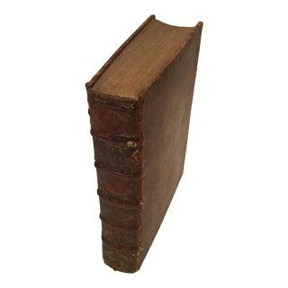 """Antique """"Histories De La Religion Des Eglises Reformes"""" Book by Basnage C."""
