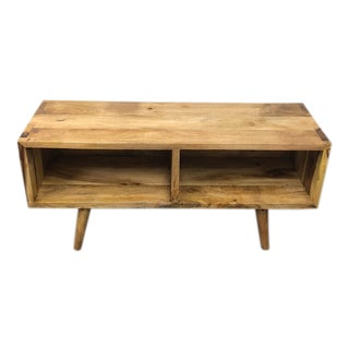 New Reclaimed Salvage Wood Lugas Media Console