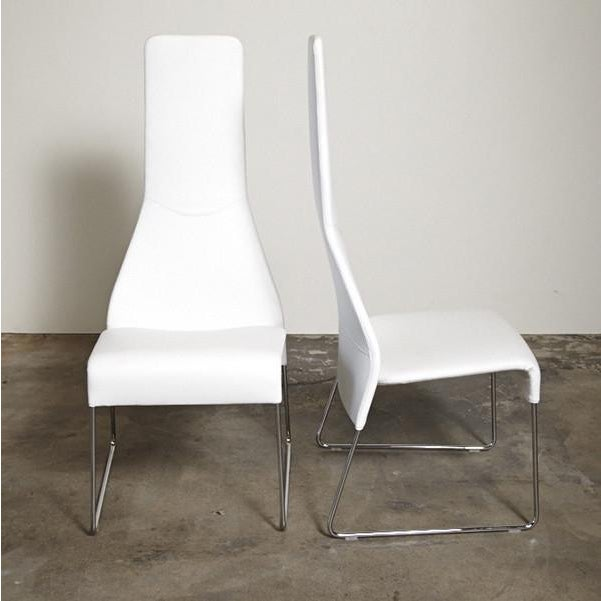 B&B Italia Lazy 05 High Back Dining Chairs - Pair - Image 2 of 3