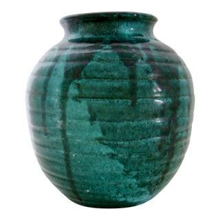 Vintage Artisan Ceramic Vase