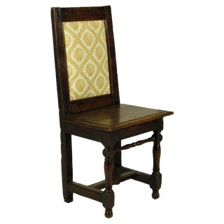 English Baroque Child's Chair