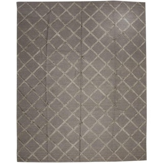 """Modern, Hand Knotted Area Rug - 8' x 10'3"""""""