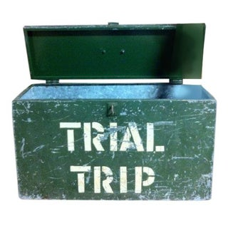 Vintage Industrial Document Box from Baltimore MD