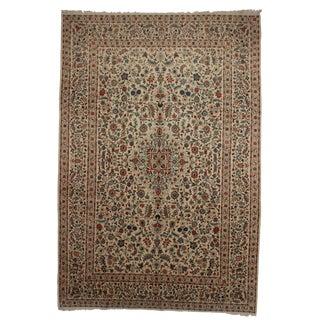 RugsinDallas Hand Knotted Wool Persian Kashan Rug - 9′5″ × 13′7″