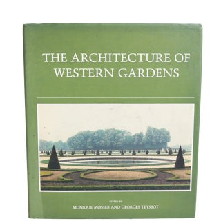 """""""Architecture of Western Gardens"""" First Edition"""