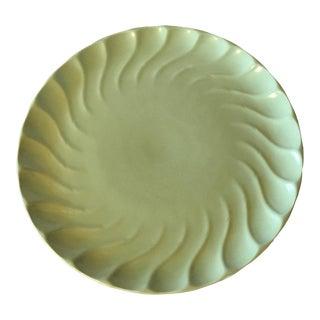 Vintage Metlox Poppytrail Yorkshire Green Platter