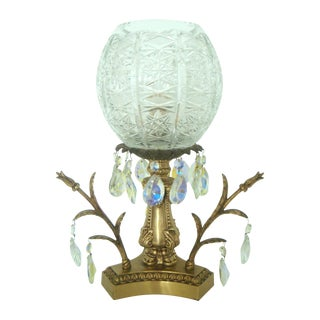 Cut Glass & CrystalTable Lamp/Light