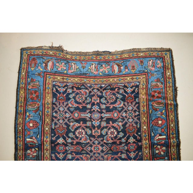 """Antique Persian Wide Runner- 3'10"""" X 9'7"""" - Image 4 of 11"""