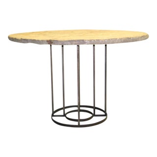 French Circular Table Base in the Manner of Jean Royère