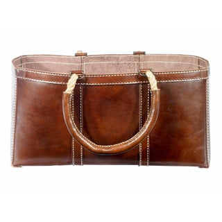 Selamat Designs Adirondack Brown Log Bag
