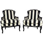 Image of Early 1900s French Louis XV Bergeres - A Pair
