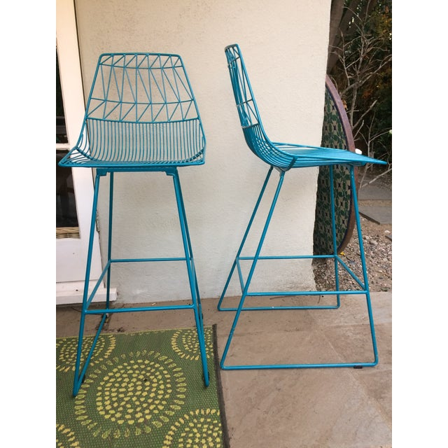 """""""Lucy"""" Bar Stools - A Pair - Image 5 of 5"""