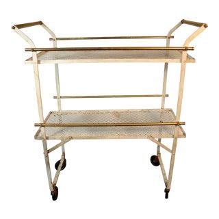 Vintage Mid-Century Folding Bar Cart