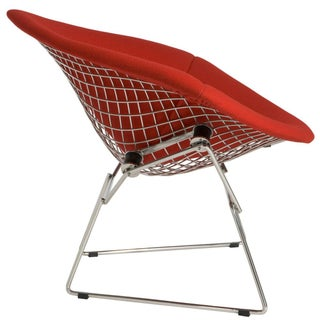 Melon Red Knoll-Bertoia Chair Seat Cover