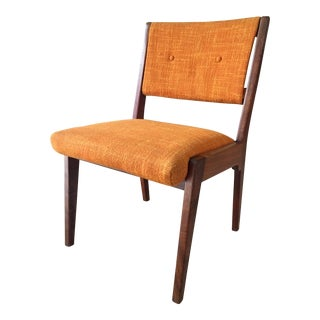Jens Risom Orange Side Chair