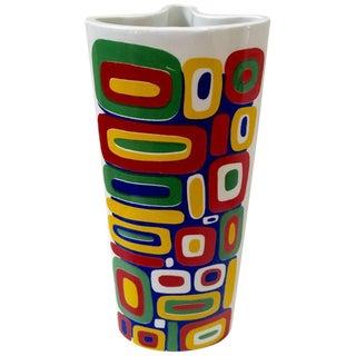 Raymor Bitossi Italian Signed Ceramic Vase