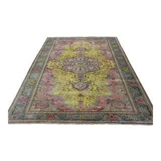 Hand Knotted Turkish Rug - 6′6″ × 10′
