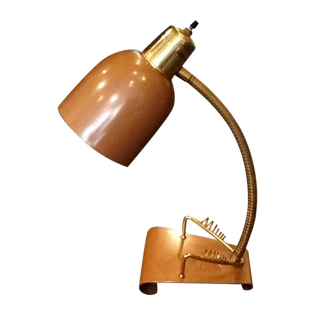 Mid-Century Student Desk Lamp - Image 1 of 4