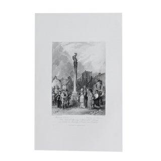 1845 Antique Religious Engraving