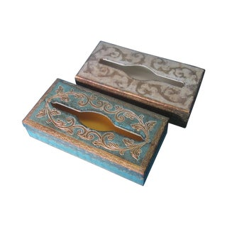 Florentine Tissue Boxes