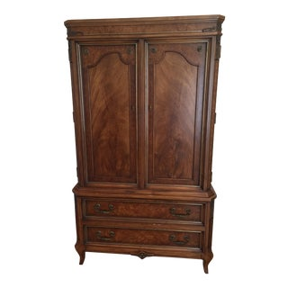 French Walnut Armoire