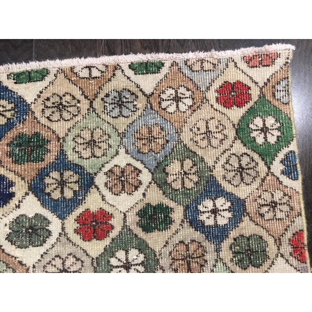"Bellwether Rugs Vintage Turkish Zeki Muren Rug - 5'9""x7'5"" - Image 7 of 8"