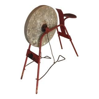 Red Blacksmith Pedal Grinding Wheel